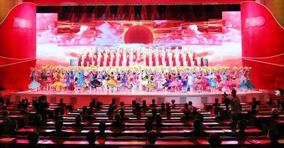 自治区庆祝中国共产党成立100周年文艺演出《光辉历程》
