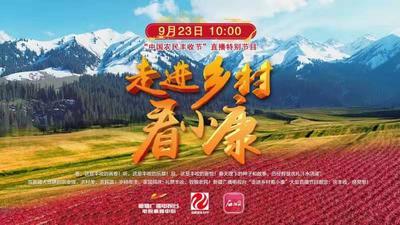 """《走进乡村看小康》——""""中国农民丰收节""""直播特别节目"""